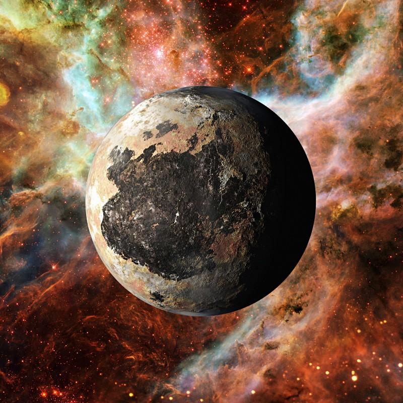 3D Pluto