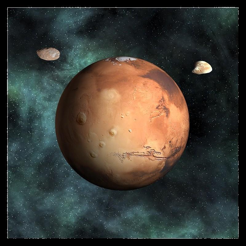 3D Mars