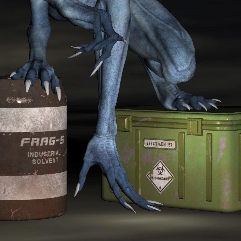 3D Bio-hazard