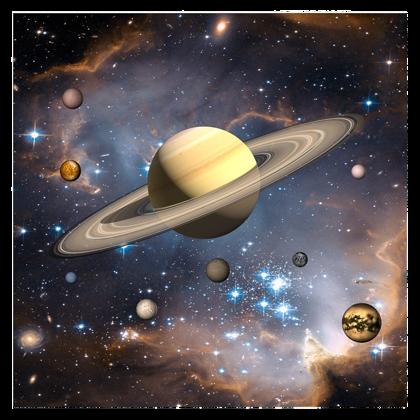 3D Saturn