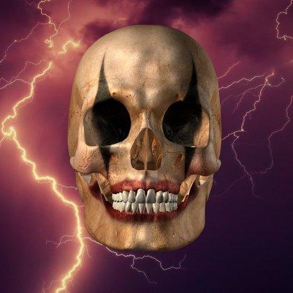3D Joker Skull