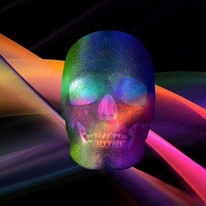 3D Laser Skull