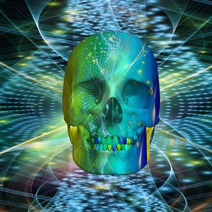 3D Disco Skull
