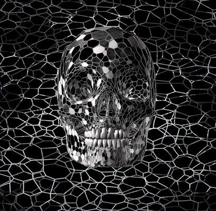 3D Mosaic Skull