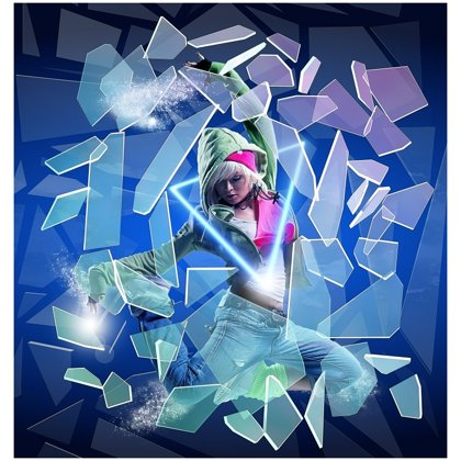 3D Dance Lenticular Hologram